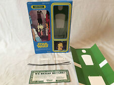 """custom vintage Star wars holiday special 12"""" han solo box + inserts"""