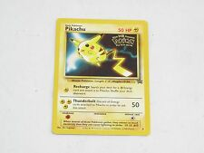 Pokemon TCG Card Black Star Promo Pikachu Fantastic Condition #4