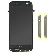 SCHERMO DISPLAY LCD VETRO E TOUCH SCREEN CON FRAME GRIGIO PER HTC ONE M8 #17288