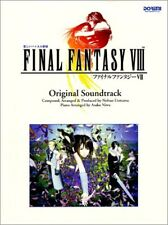 Final Fantasy VIII 8 Soundtrack Piano Sheet Music Collection Book