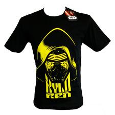 T-Shirt STAR WARS KYLO REN Maglia Nera 100% Prodotto Ufficiale Maglietta
