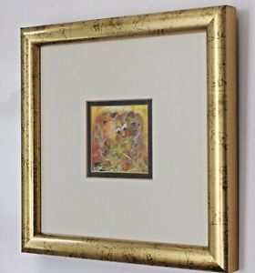ROSMAR BOOTH RSA Royal Miniature Society ARTIST framed original painting CLOWNS