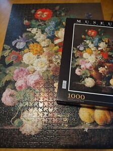 Clementoni 1000pc Jigsaw Puzzle Flowers