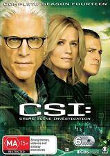 Csi Season 14 NEW R4 DVD
