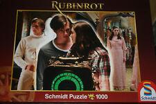 """Puzzle 1000 piezas """"color rojo rubí-el amor va por todos los tiempos"""" V. Schmidt Top"""