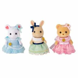 Epoch Sylvanian Families Cute Dress Girls Fan Club Limited Japan F/S