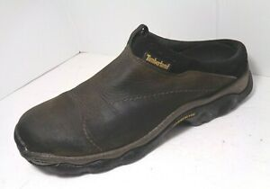 Timberland Mens Brown Active Comfort Technology Slippers Mules Shoes US Size 8 M