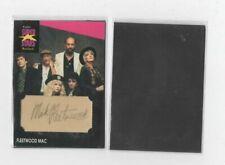 Mick Fleetwood Facsimile Autograph Custom Cut Magnet (Trading Card Size)