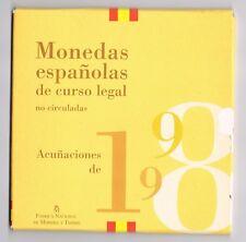 SPANJE SPAIN - MUNTENSET 1998 - BU- set in blister
