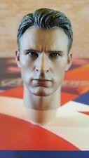 Hot Toys MMS281 AOU Avengers 1/6 figure's Captain Steven Rogers head sculpt only