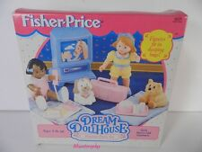 1994 Vintage Dream Dollhouse Fisher Price Dress-Up Vanity  Set New OLD Stock