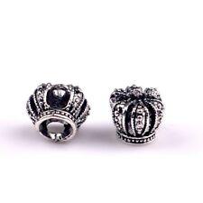 Charm tipo Pandora Corona Reale idea regalo per bracciale ciondolo NO ORIGINALE