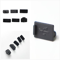 For PS5 Console USB HDM Dust Plug Anti Dust Silicone Protector Cover Dust Proof