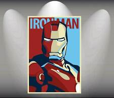 Iron Man vintage Comic Art Poster  format A3 Top Print