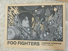 Foo Fighters London Stadium Poster A/P S/N #13/20 June 22 2018 Rickey Beckett