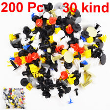 Set of 200Pcs Push Pin Mixed Door Trim Panel Clip Fastener Bumper Rivet Retainer