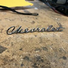 1960 - 1961 Chevrolet C10 C20 Chevy Apache Deluxe Glove Box Script
