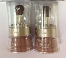 2 X L'Oreal BARE Naturale Eye Shadow BARE CHESTNUT #856 NEW