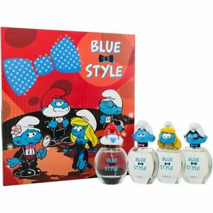 Smurfs 3D 4X50ml Set Papa + Clumsy + Smurfette + Brainy