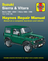 Suzuki Sierra 1988-2000/Vitara 1988-1998 Repair Manual