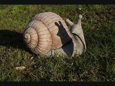 GIANT SNAIL Real Look Decor Patio Stone Bespoke Animal Ornament Statue