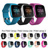 Replacement Silicone Sport Band Soft Strap For Fitbit Versa Lite Versa 2/1 S / L