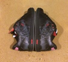 DVS Charge Size 7.5 Black Leather Deegan BMX DC Skate Shoes Militia Transom
