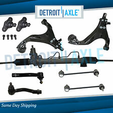 9pc Complete Power Steering Rack and Pinion Suspension Kit for Kia Sportage 2WD