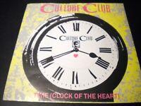 "Culture Club - Time (Clock Of The Heart) - Vinyl Record 7"" Single - VS 558"