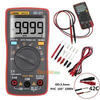 AN8008 True-RMS Digital Multimeter 9999 Counts AC DC Voltage Volt Ammeter Tester