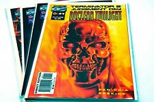 Terminator 2 Nuclear Twilight #0-4,Cybernetic Dawn Set, #1,2 Malibu Comics,1996