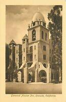 Db Postcard CA Da196 Sepia Glenwood Mission Inn Riverside Made in Germany