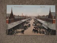 Gansevoort Market, New York, Pub. by American News Co., unused vintage card