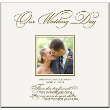 Personalized Wedding Photo Albums Our Wedding Day