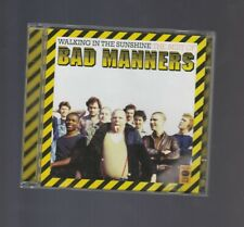 BAD MANNERS-WALKING IN THE SUNSHINE-(CD)-NEAR MINT/LIKE NEW DOUBLE CD-NEAR MINT