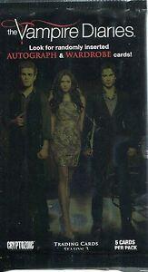 Vampire Diaries Season 3 Factory Sealed Packet / Pack
