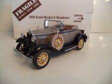 DANBURY MINT FORD MODEL A ROADSTER   1931   BOX.