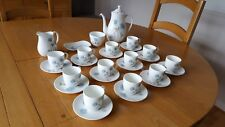 Vintage Wedgewod ICE ROSE Coffee/Tea  Set.(29pieces) Mint condition