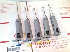 Set of 5  Denville XL3000i pipettes 2,20,100, 200,1000 #323