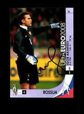 Igor Akinfev Russland Panini Card Euro 2008 Original Signiert+ A 158186