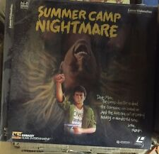 NEW Summer Camp Nightmare 1987 RARE Horror Camp Thriller NEW IN PLASTIC