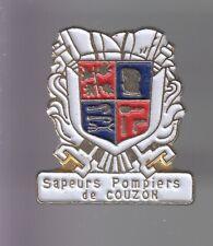 RARE PINS PIN'S .. POMPIER FIRE CASERNE BLASON COUZON AU MONT D'OR 69 ~DL