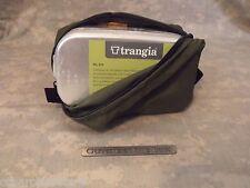 Emergency/Survival: Trangia #212 Aluminum Mess Kit Tin & Nylon Pouch OLIVE DRAB