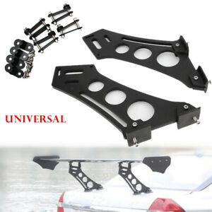 Car Modified Tail Spoiler Stand Universal Rear Wing Trunk Legs Mount Brackets