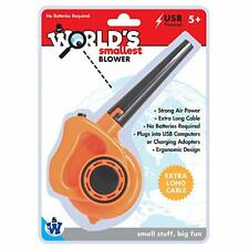 Westminster Inc. World's Smallest Blower - Real Working Tiny USB Powered Leaf...