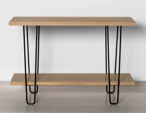 Wood & Wire Console Table - Hearth & Hand with Magnolia