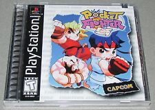 Pocket Fighter for Playstation PS1 Brand New! Factory Sealed!