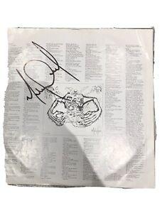 Michael Jackson Signed Vinyl