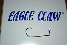 EAGLE CLAW 570 BRONZE JIG HOOK #1 100 PER PACK CRAPPIE DO IT MOLDS JIG HEADS