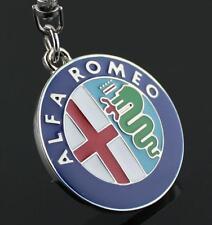 For Alfa Romeo Keyring Chain Car Logo Titanium Keyring Keychain Key Chain